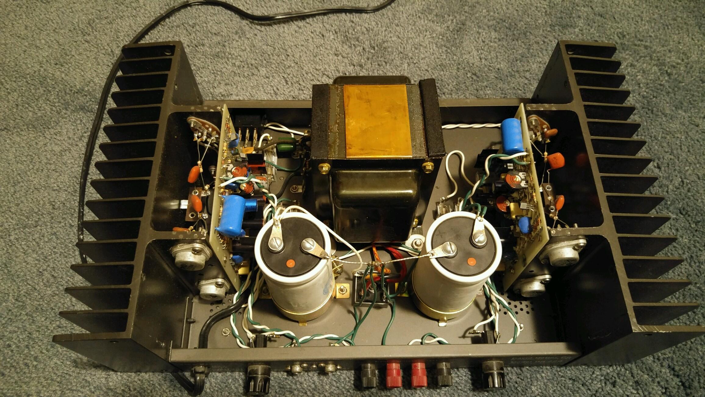 Hafler Dh 220 Rebuild Audio Science Review Asr Forum