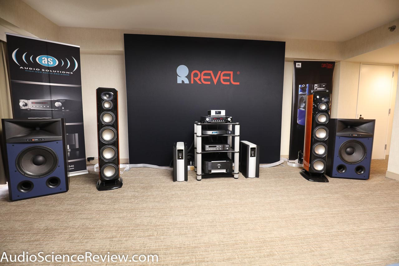 AXPONA 2017: Harman, Mark Levinson, JBL, Revel Speakers
