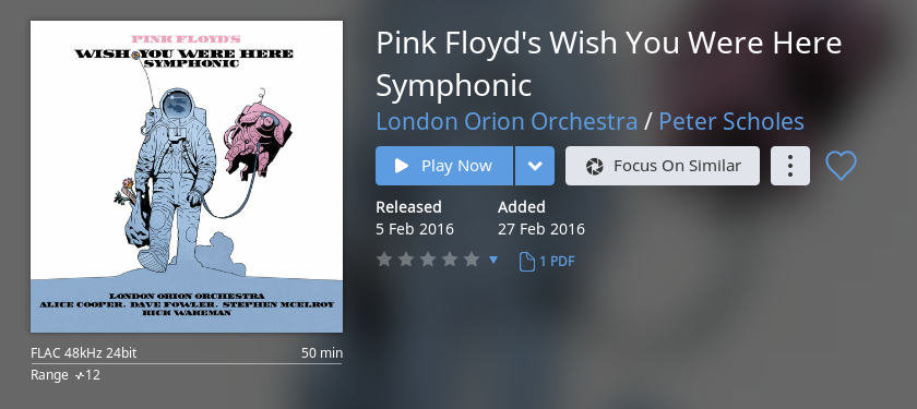 Help! similar artists like Pink Floyd? | Audio Science Review (ASR