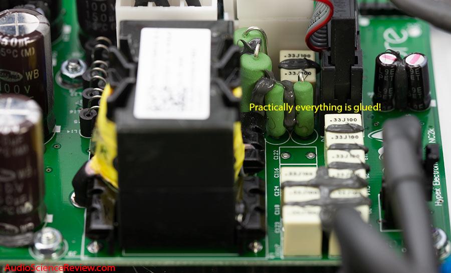 Apollon HYPEX NC2K BASED MONOBLOCK AMPLIFIER Component glue teardown.jpg