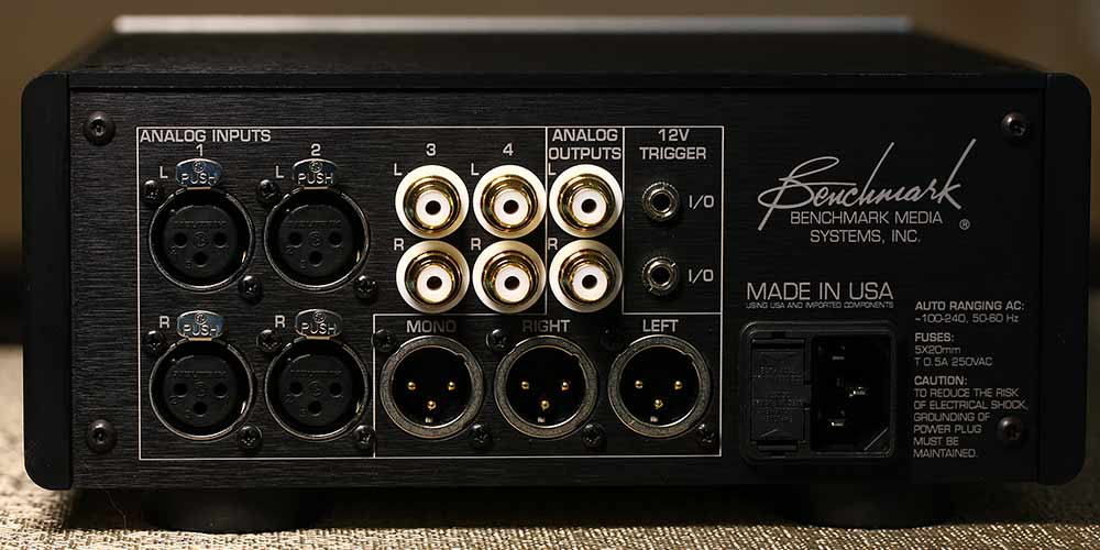 Benchmark HPA4 Preamplifier and Headphone Amp back panel Audio Review.jpg