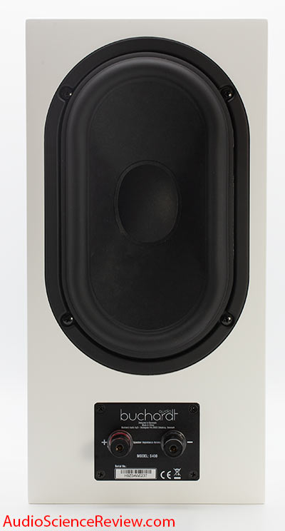 Buchardt S400 bookshelf speaker back panel passive radiator audio review.jpg