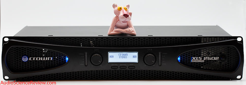 Crown XLS2502 Drivecore Stereo Pro Amplifier Audio Review.jpg