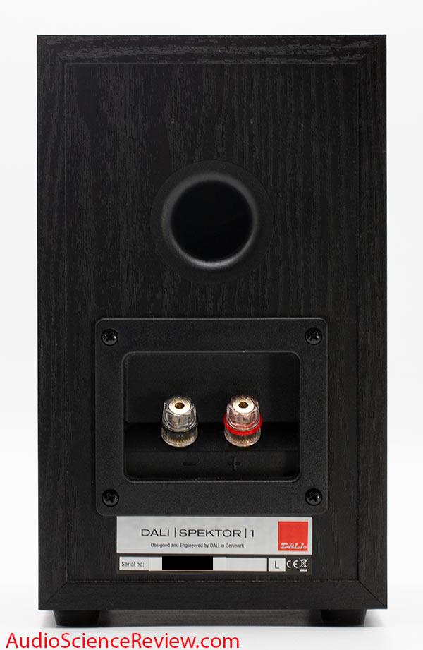 Dali Spektor 1 Review back panel binding posts port Bookshelf Speaker.jpg