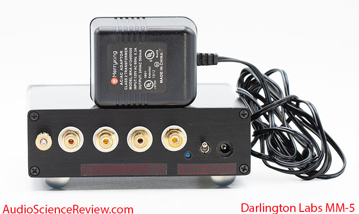 Darlington Labs MM-5 review phono stage back panel.jpg