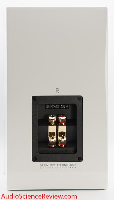 Definitive Technology Demand D11 Bookshelf Speaker Back Binding Posts Bi-wire Bi-amp Review.jpg