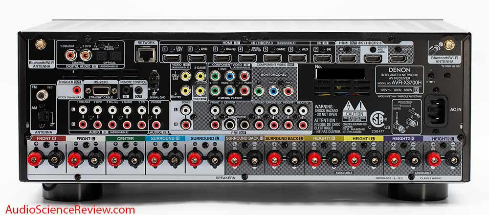 Denon AVR-X3700H 9.2 channel 8K AV Receiver Dolby Atmos Back Panel Inputs HDMI Connectors Audi...jpg