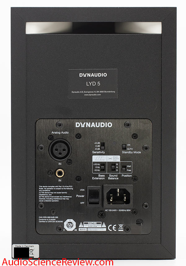 Dynaudio LYD 5 Studio Powered Monitor Speaker Rear Port Audio Review.jpg