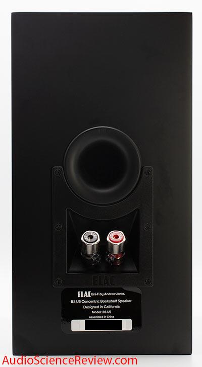 Elac BS U5 Slim 3-way bookshelf speaker Coaxial Andrew Jones Back Panel Binding Posts Review.jpg