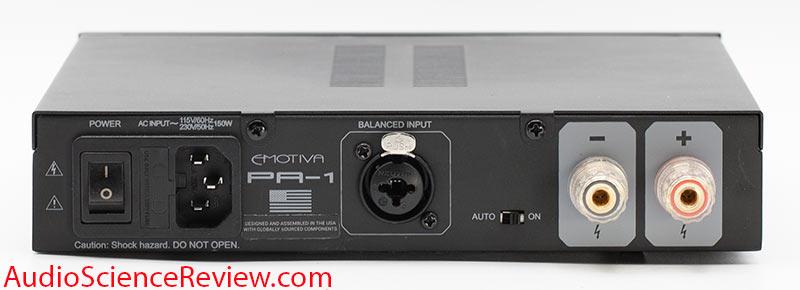 Emotiva PA-1 Review balanced back panel Monoblock Amplifier.jpg