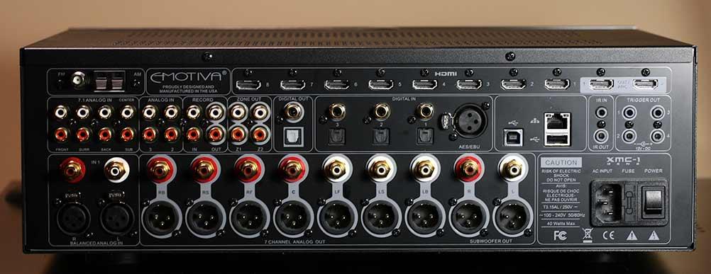 Emotiva XMC-1 Home Theater Surround Processor PrePro Back Panel review.jpg