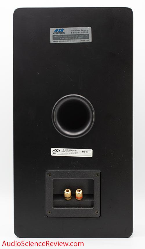 HB-1 MK2 Review back panel binding posts Horn Bookshelf Speaker.jpg