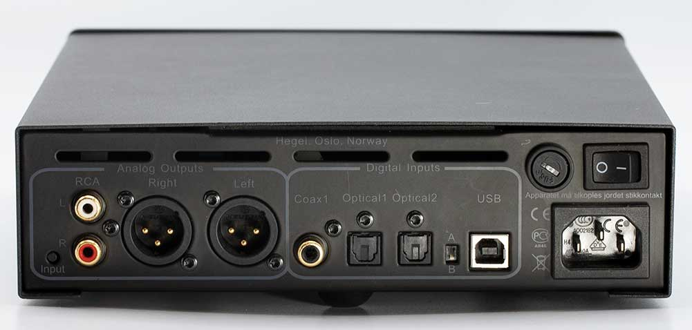 Hegel HD12 DSD USB DAC and Headphone Amplifier Back Panel Connectors Audio Review.jpg