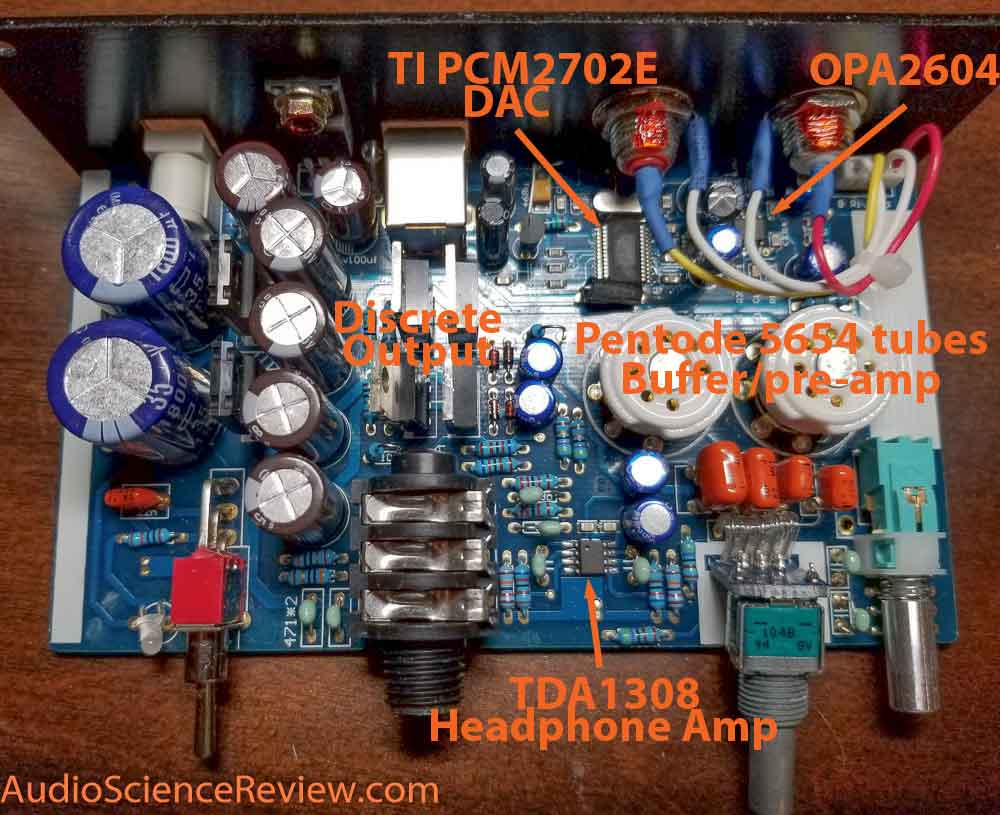 Hifiman EF2A DAC headphone amplifier teardown main board.jpg