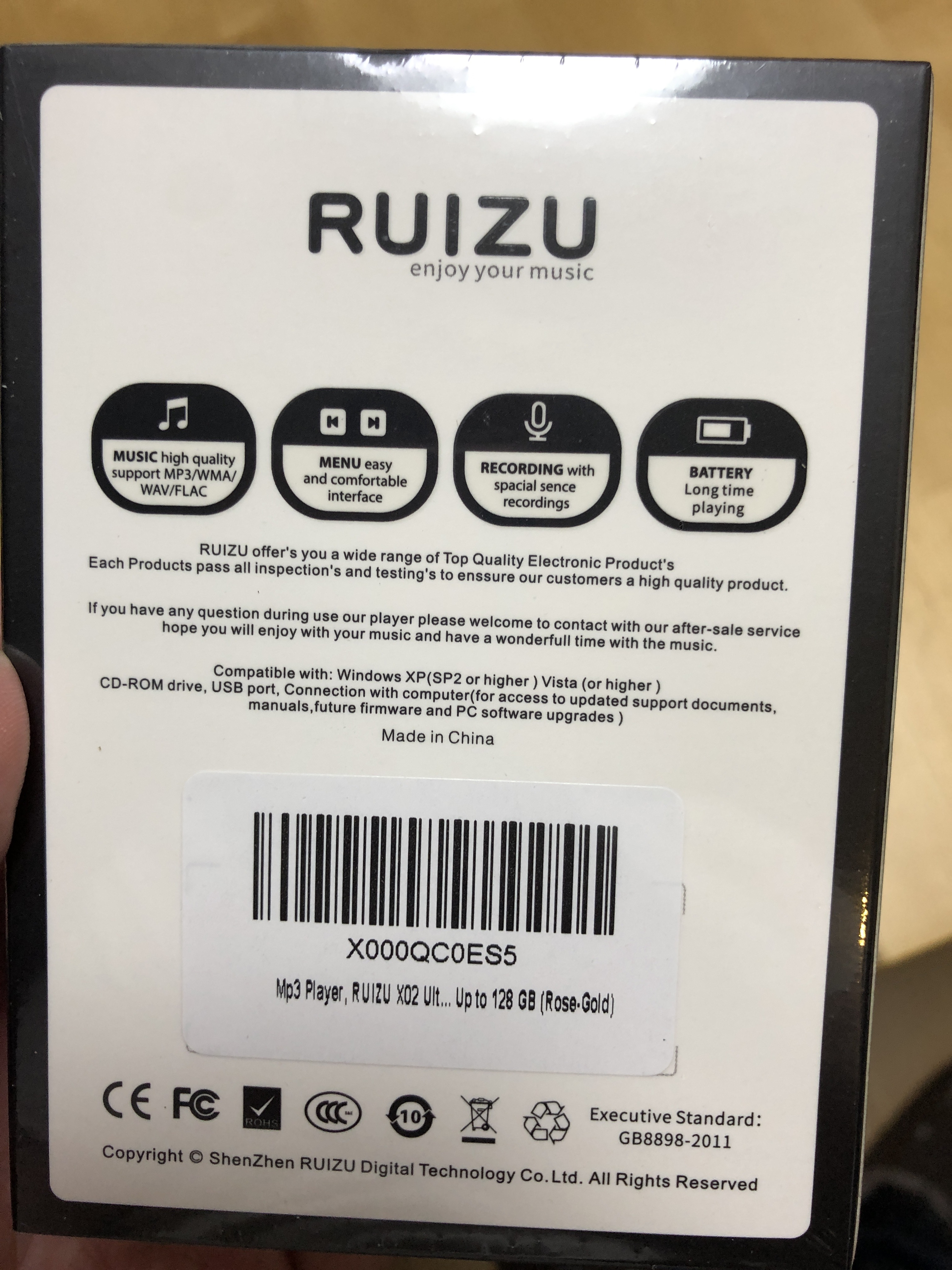 Ruizu X02 Unboxing and Initial Notes | Audio Science Review