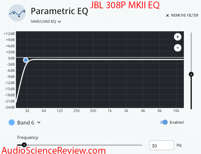JBL 308P MkII Review Powered 8 inch Two-Way Studio Monitor Equalization.png