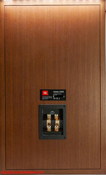 JBL 4319 Studio Monitor Speakers Back Panel bi-amp Connectors Audio Review.jpg