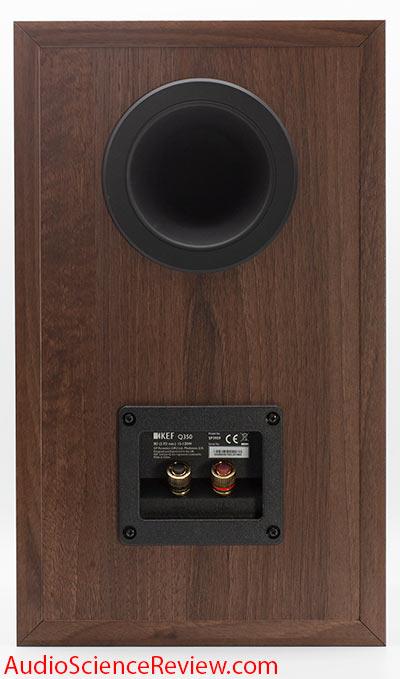 KEF Q350 Bookshelf Speaker Back Panel Port Binding Posts Review.jpg