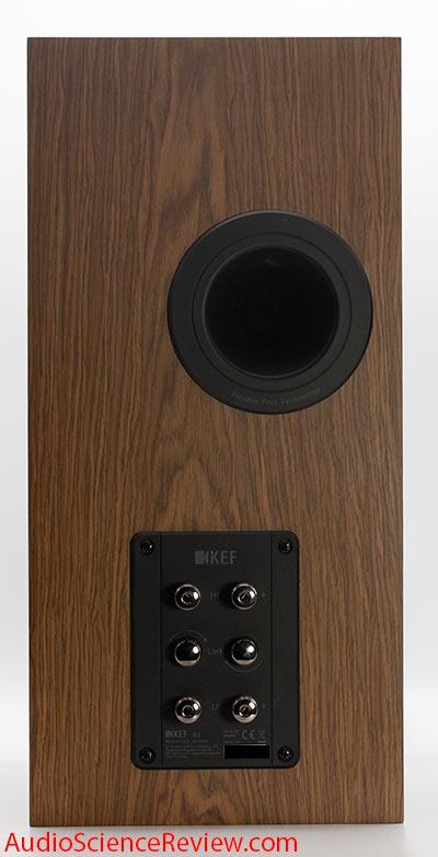 KEF R3 Three-way stand mount Speaker Back Panel Connector Bi-amp Bi-wire Audio Review.jpg