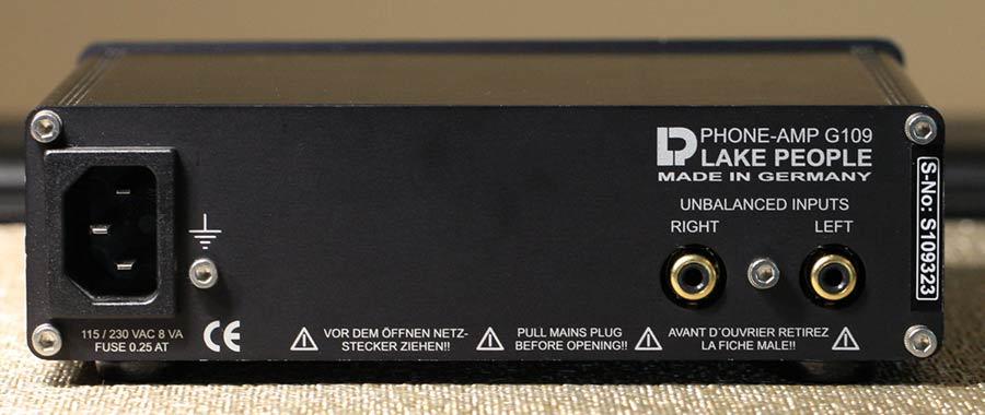 Lake People G109-S headphone Amplifier Back Panel Audio Review.jpg