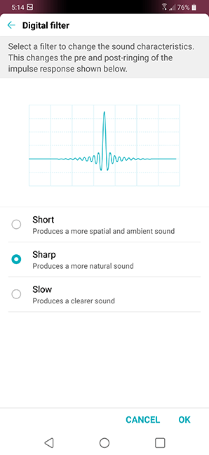 LG G7 ThinQ Audio DAC filter Selection.png
