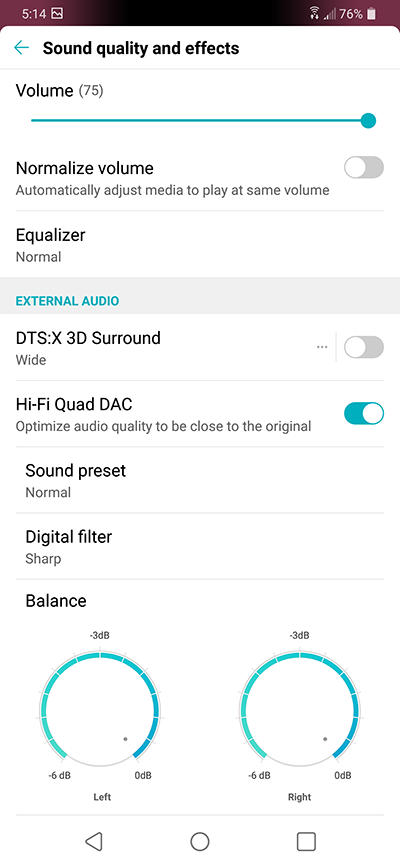 Review and Audio Measurement of LG G7 ThinQ Smartphone