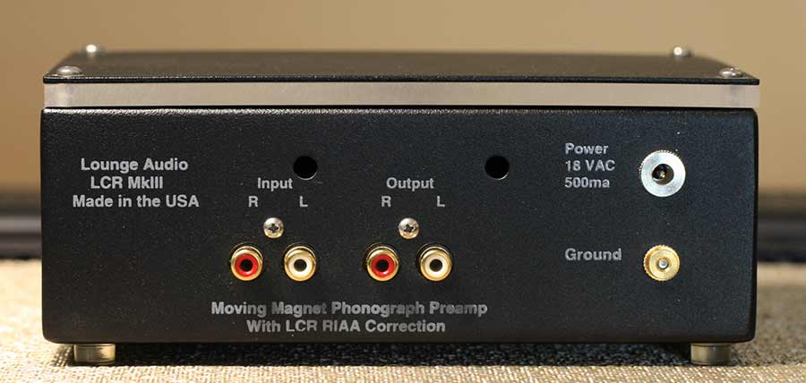 Lounge Audio LCR MKIII Phono Preamp Back Panel Audio Review.jpg