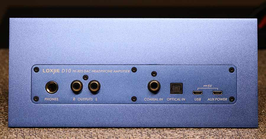 Loxjie D10 USB DAC and Headphone Amplifier Back Panel Audio Review.jpg