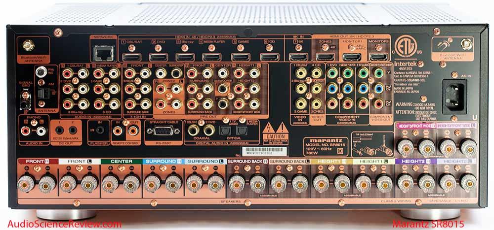 Marantz SR8015 Review 8K Home Theater Back Panel AVR Audio Video Receiver.jpg