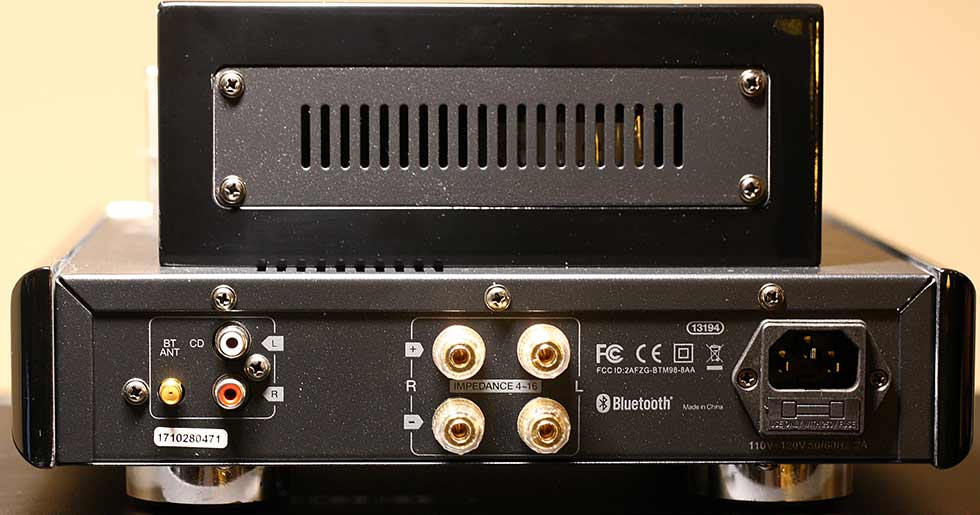 Review and Measurements of Monoprice Hybrid Tube Amp   Audio