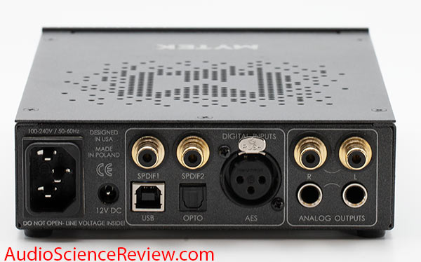 Mytek Liberty USB Professional DAC Back Panel Connector Audio Review.jpg