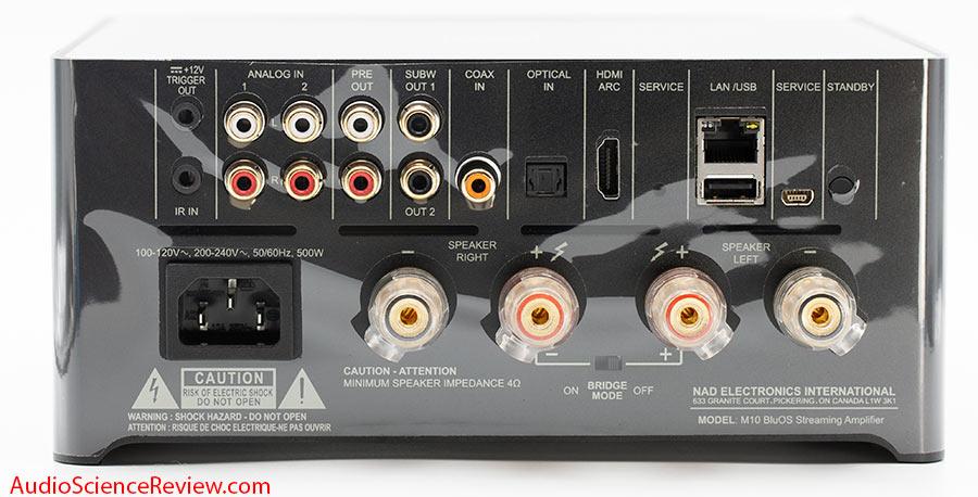 NAD M10 BluOS STREAMING AMPLIFIER DAC Wifi Coax HDMI inputs ARC Review.jpg