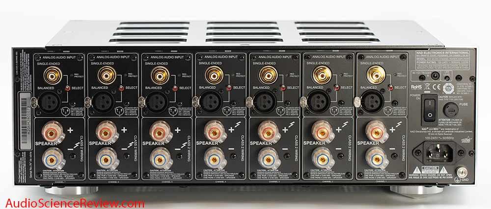 NAD M28 Multichannel Purifi Class D Amplifier Audio XLR RCA Home Theater Review.jpg