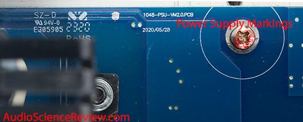 NAD M28 teardown purifi amplifier power supply marking.jpg