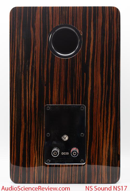 Natural Sound NS17 Review back panel passive flagship bookshelf speaker.jpg