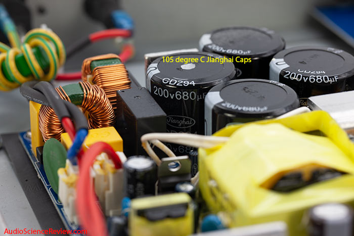 Niles SI-2150 Amplifier Custom Install Stereo Audio Power Supply Switching Teardown.jpg