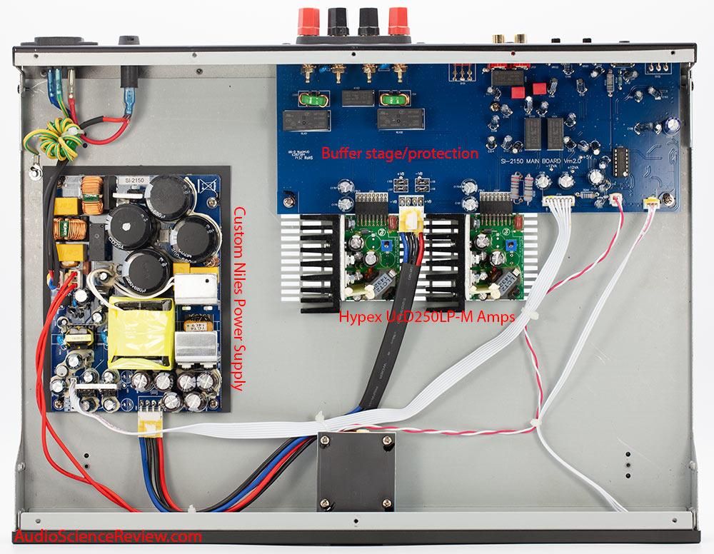 Niles SI-2150 Amplifier Custom Install Stereo Audio Teardown.jpg