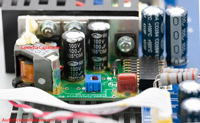 Niles SI-2150 Amplifier Custom Install Stereo UcD250 Amplifier Modules Audio Teardown.jpg