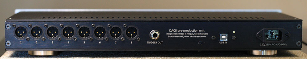 Okto Research DAC8 Pro USB 8 Channel DAC and Headphone Amplifier Back Panel Review.jpg