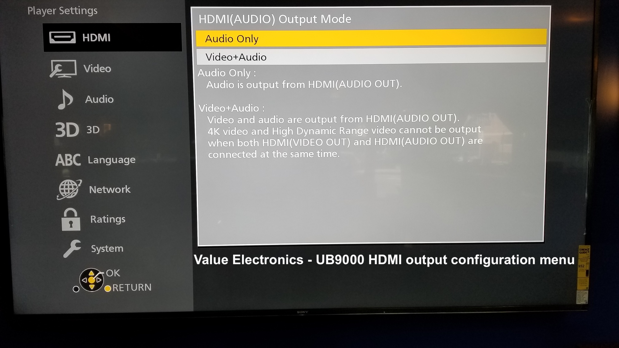 Panasonic UB9000 HDMI output configuration menu.jpg