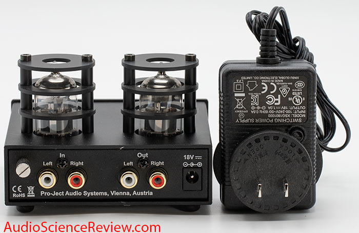 Pro-ject Tube Box S2 Phono Preamplifier Back Panel Connectors Audio Review.jpg