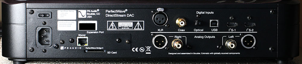 PS Audio PerfectWave DirectStream DS DAC back panel Audio Review.jpg