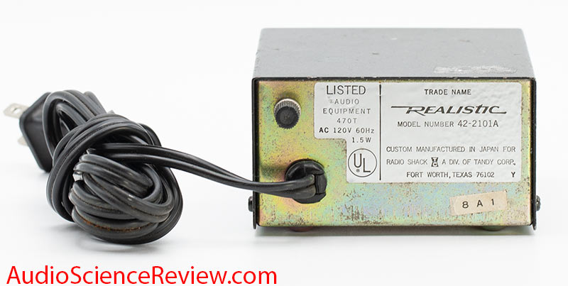 Realistic 42-2101A Review Phono vintage preamplifier.jpg