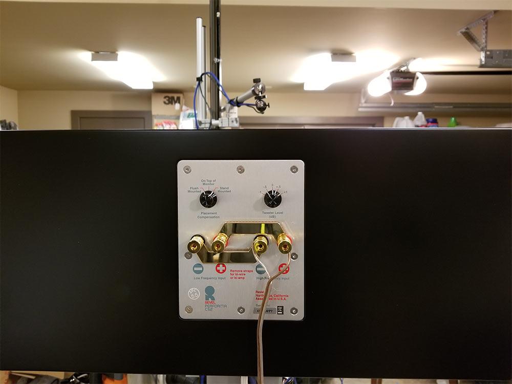 Revel C52 Center Speaker 3-way Back Panel Connectors Review.jpg