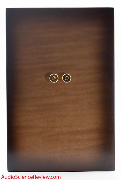 Salk WoW1 Bookshelf Speaker 2-way back panel custom finish Audio review.jpg
