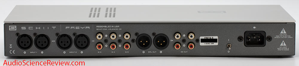Schiit Freya S Preamplifier Back Panel inputs outputs balanced Review.jpg