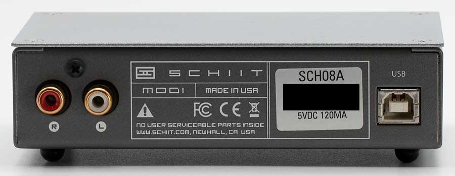 Schiit Modi 1 USB DAC Back Panel Connectors Audio Review.jpg