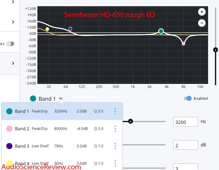 Sennheiser HD-650 headphone BK 5128 Equalization Measurements.png