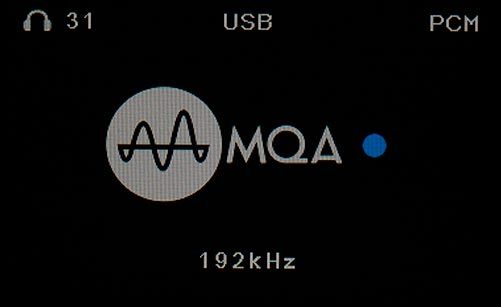 SMSL M500 DAC and Headphone Amplifier Headphone MQA Test at 192 kHz Screen Shot.jpg