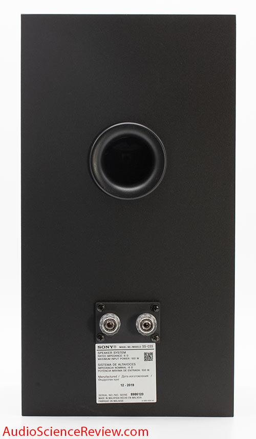 Sony SS-CS5 three-way 3-way bookshelf speaker back panel binding post port audio review.jpg